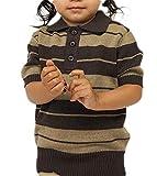 FB County Kid Charlie Brown Shirt Brown/Tan