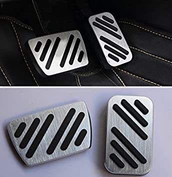 Sport AT Pedal Accelerator Brake Footrest Pad For Honda Accord 2013-2018