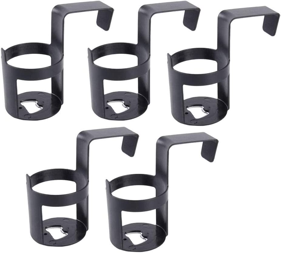 Wakauto 5pcs Car Drink Holders,Automotive Cup Holders Plastic Universal Hanging Beverage Cup Holder Easy to Install Bottle Rack for Car Auto