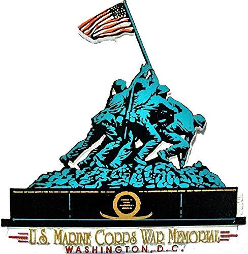 U.S Marine Corps Iwo Jima Memorial Washington D.C. Fridge Magnet