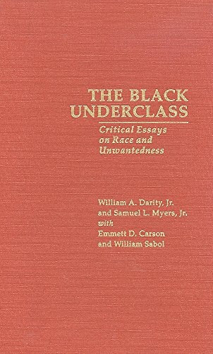 Black Underclass, The (Garland Reference Library of Social Science)