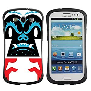 Hybrid Anti-Shock Bumper Case for Samsung Galaxy S3 / Cool Gorilla