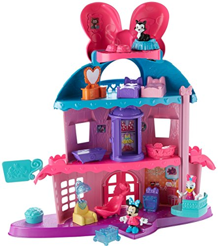Fisher-Price Disney Minnie Mouse Home Sweet Headquarters Dollhouse Playset