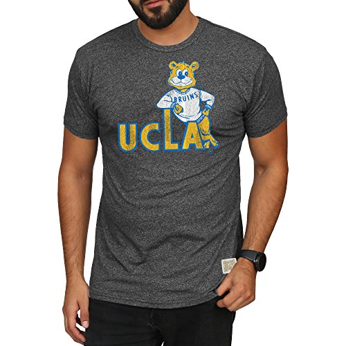 Elite Fan Shop UCLA Bruins Retro Tshirt Charcoal - for sale  Delivered anywhere in USA