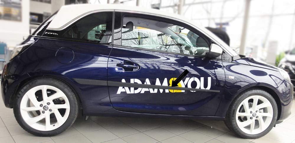 Spangenberg 370002707 Baguettes de Protection lat/érales pour Opel Astra J Hayon /à partir de 12.2009 F27 Noir