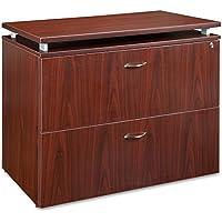 Lorell LLR68718 68600 Series File Cabinet, Mahogany