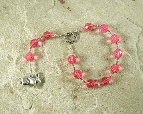 Ostara (Eostre) Pocket Prayer Beads: Anglo-Saxon/Germanic Goddess of Spring, Dawn, New Beginnings