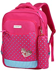 Vbiger School Backpack Bookbag School Bag Casual Outdoor Daypack with Pencil Case for Primary Students