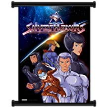 "Silverhawks Cartoon Fabric Wall Scroll Poster (32""x42"") Inches"