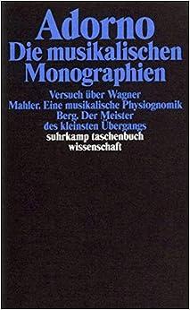 Die musikalischen Monographien.