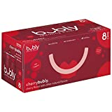 bubly Sparkling Water, Cherry, 12 ounce Cans (Pack of 8)