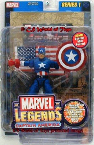 Marvel Legends Series 1 Action Figure Captain America