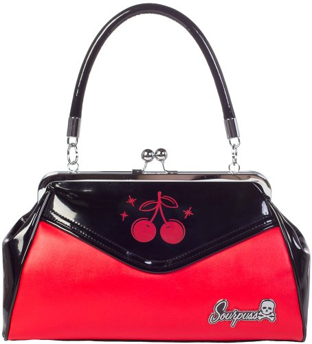 Sourpuss Cherry Backseat Baby Purse, Bags Central