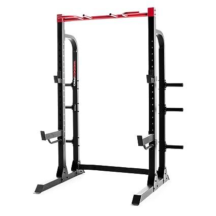 Rogue garage gym admirable rogue r infinity power rack half rack