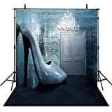 8x8Feet Photography Backdrops Prom Party Vinyl Photography For Backdrop High Heels Photo Backgrounds For Photo Studio
