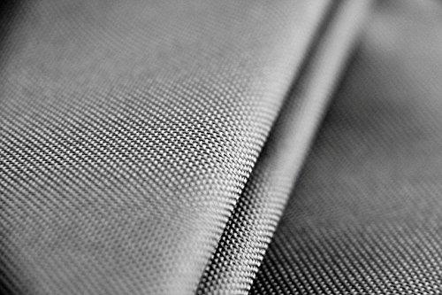 Premium Schutzhülle Schutzhülle Schutzhülle für Gartentisch rechteckig aus Polyester Oxford 600D - lichtgrau - von 'mehr Garten' - Größe L (175 x 105 cm) 96864e