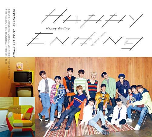 SEVENTEEN 세븐틴  Happy Ending (첫 한정반A) 싱글,한정판,맥시