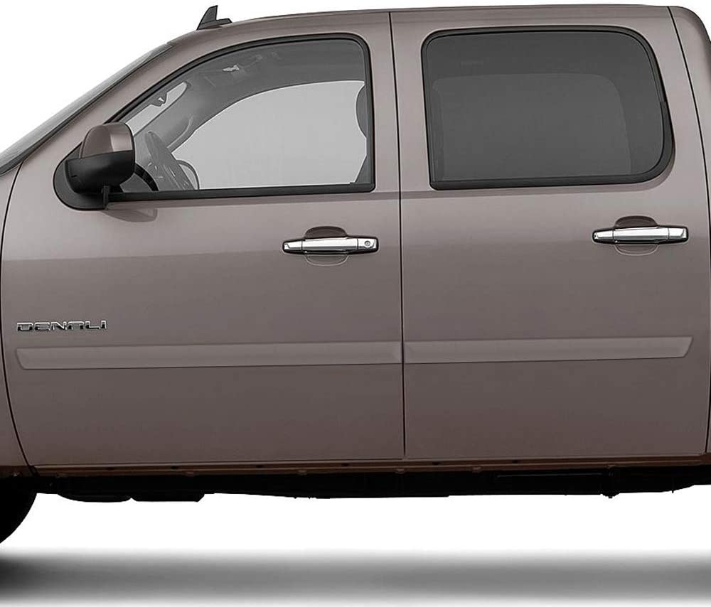 GMC Sierra Dawn Enterprises FE2-SILVERADO-CC Finished End Body Side Molding Compatible with Chevrolet Silverado GCH Antique Bronze Metallic WA317N