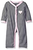 Hudson Baby Unisex Baby Cotton Coveralls, Pink