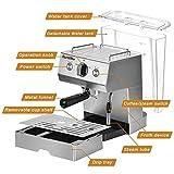 Barsetto CM5003-UL Espresso Machine, 14.4 x 15.3