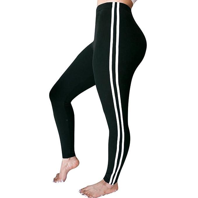 Amazon.com: Pantalones de mujer con cordón, cintura alta ...