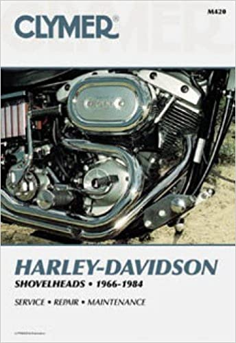 m420 1966-1984 harley-davidson fl fx shovelhead motorcycle repair manual  clymer: manufacturer: amazon com: books