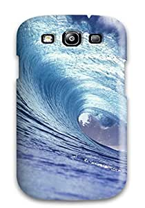 8808460K47669462 Defender Case For Galaxy S3, Wave Pattern