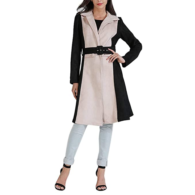 Amazon.com: AOJIAN Women Jacket Long Sleeve Outwear Temperament Cardigan Elegant Maxi Overcoat Trench Long Coat: Clothing