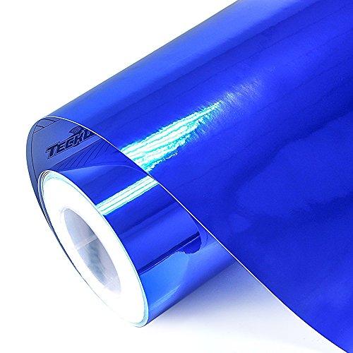 Teckwrap 11 5 Quot X 55 Quot Blue Chrome Mirror Vinyl Wrap Film
