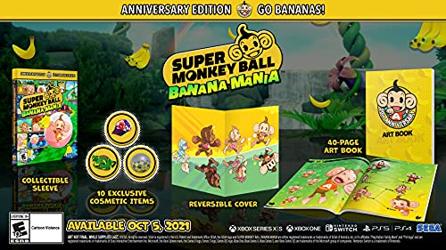 Super Monkey Ball Banana Mania: Anniversary Launch Edition – Nintendo Switch