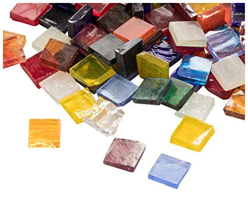 Juvale Glass Mosaic Tiles