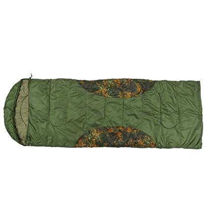 RXF Saco de Dormir único Que cose el Saco de Dormir Adulto del Camuflaje del Sobre
