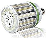 led 125 watt light bulbs - 16,250 Lumen LED Corn Bulb - 125 Watt LED Corn Light - Fanless Technology LED Corn Cob Light - E39 - 5000K- 400 Watt Metal Halide Replacement - UL & DLC Certified