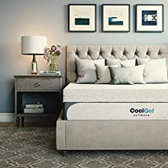 Experience cloud-like luxury with our Classic Brands cool Gel Ultimate gel memory foam 14- inch mattress. The newest generation of gel memory foam technology, This mattress offers a plusher and incredibly comfortable sleeping surface. Get a m...