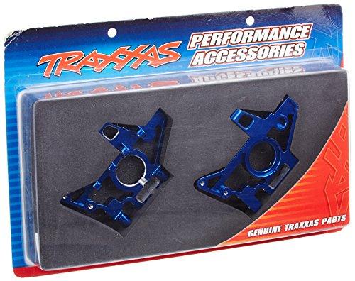 Traxxas 4929X Blue-Anodized 6061-T6 Aluminum Rear Bulkheads