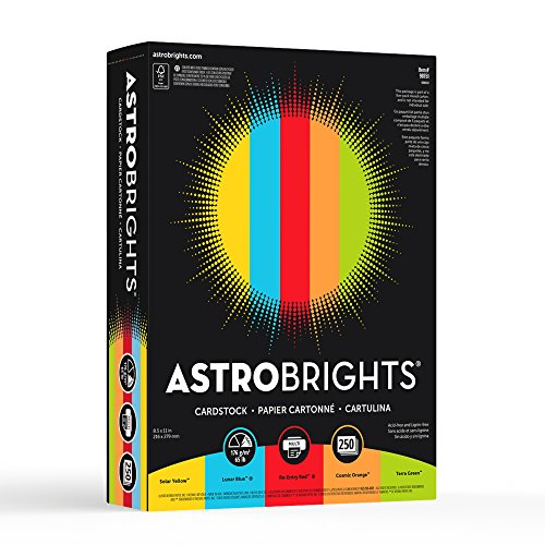 Cover Stock Assortment (Astrobrights Colored Cardstock, 8.5