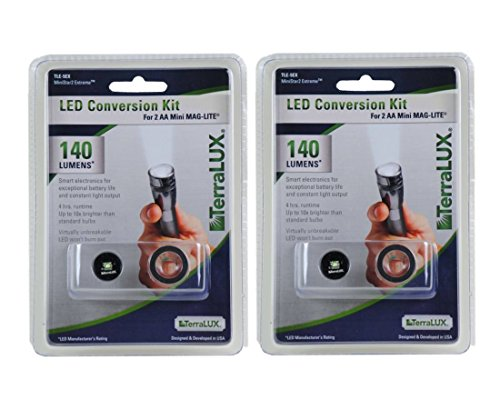 Terralux Tle 5ex Ministar2 Led Upgrade Conversion Kit For