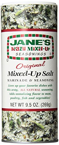 Jane's Krazy Seasonings Mixed Up Salt, 9.5 Ounce (Pack of 12) by Jane's Krazy Seasonings