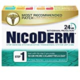 Nicorette Nicoderm Step 1 Clear Patches, 21 mg/Day, 7 Count