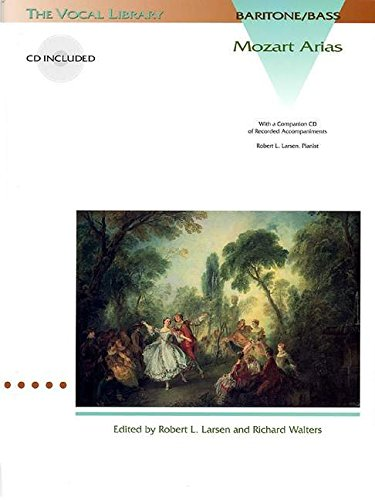 Mozart Arias for Baritone/Bass: The Vocal Library (Vocal Collection)