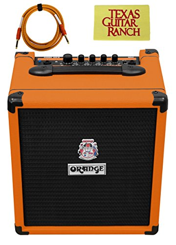 Orange Crush Bass 25 Bass Guitar Amp with Free Cable and Polish (Orange Crush Guitar Amp)