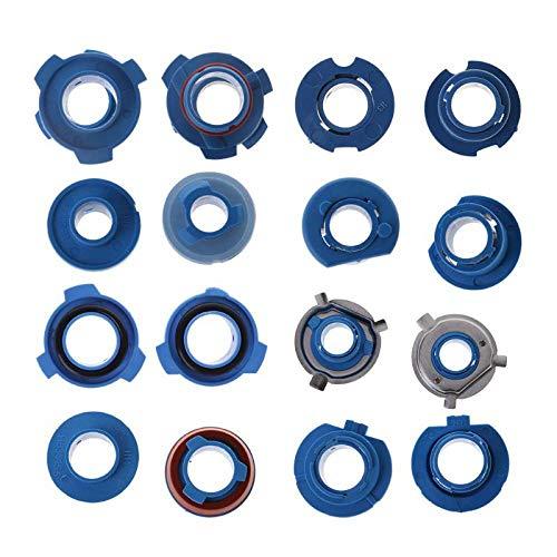 2pcs LED Headlight Bulb Base Adapter Socket Holder 880/HB4/HB3/H11/H7/H4/H3/H1 for Car Halogen Headlamps H7