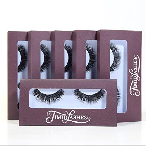 Mila by Timid Lashes | Six-Pack Premium Quality Faux Mink False Eyelashes