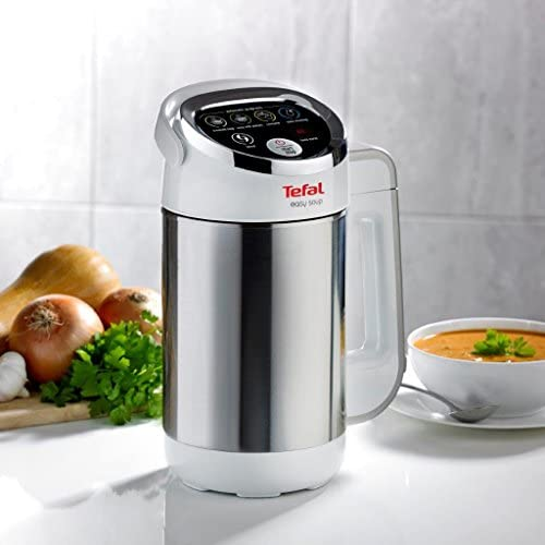 Tefal Easy Soup and Smoothie Maker, Stainless Steel, White