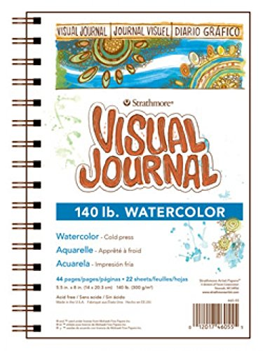 Strathmore 400 Series Visual Watercolor Journal, 140 LB 9