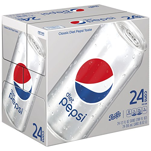 (Diet Pepsi, 12 ounce Cans, 24 Count)