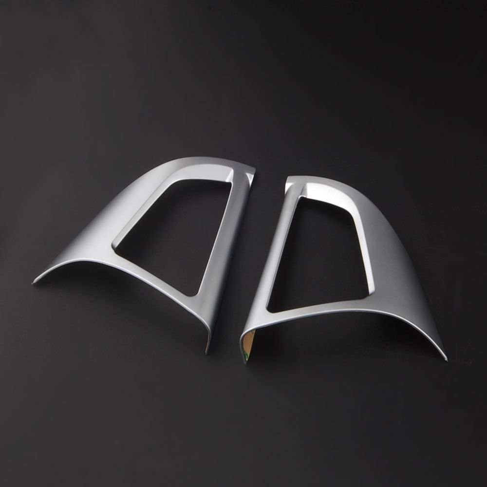 UltaPlay Car Styling Chrome Steering Wheel Button Cover Trim Interior Decor Frame Moldings Sticker For Chevrolet TRAX 2014 2015 2016 2017