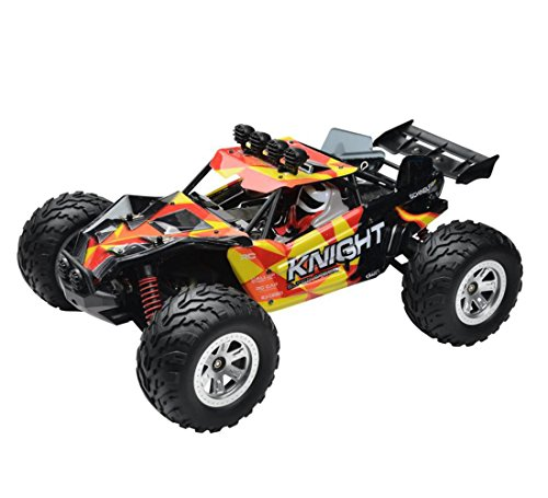 Zerospace Fast RC Car 4WD Remote Control Off Road Car 1/12 Scale 2.4GHz 20MPH Short Course Electric Desert Buggy RTR (FY11)- Orange