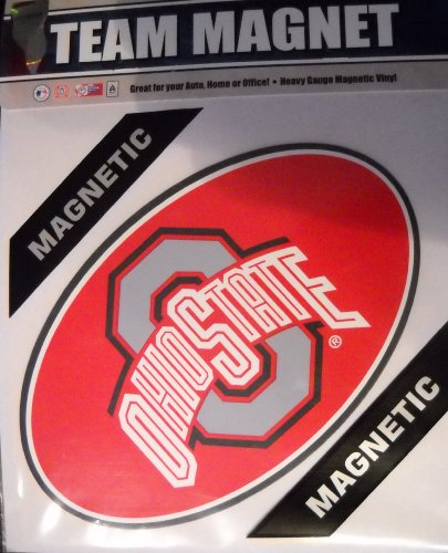 Ohio State Buckeyes 8'' Car Magnet by Fremont Die