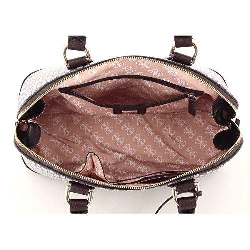 Donna Bianca Bowling Cupola Bag Stile Jetset Indovinare q6SEtxF7